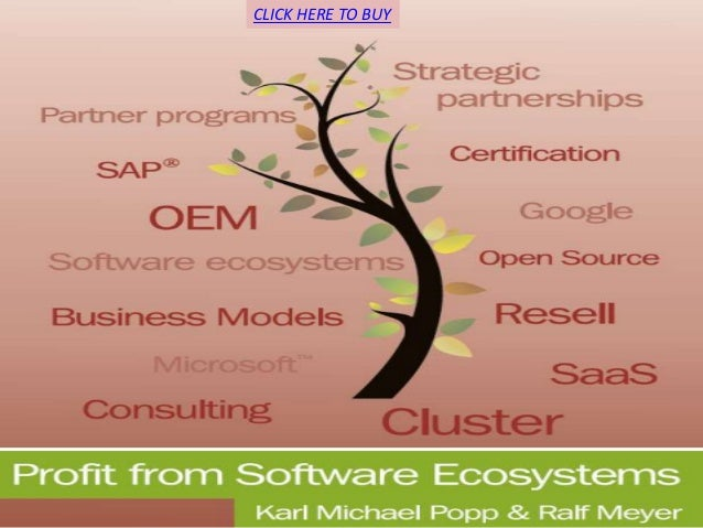 Profit from software ecosystems
