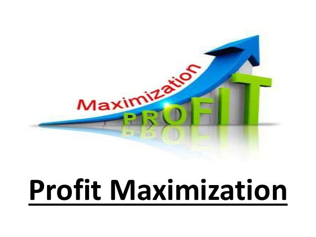 topic profit maximization of a firm This video explains how firms in competitive markets maximize profit and outlines how to show that profit graphically  profit maximization in competitive markets jodiecongirl  unit 4 topic.