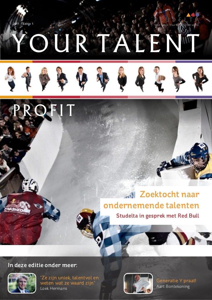 Nieuwsbrief Profit 2011 - Editie 1