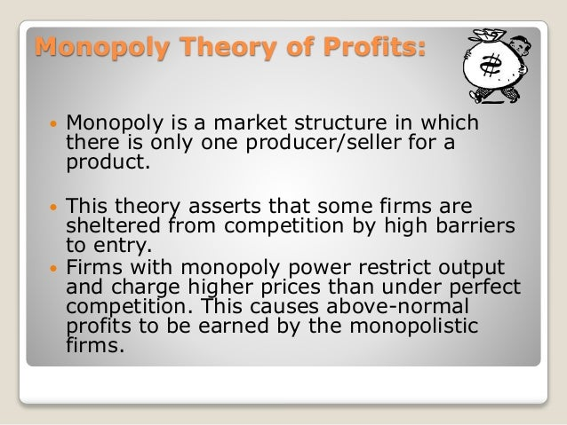 Profit: Meaning and Theories of Profit