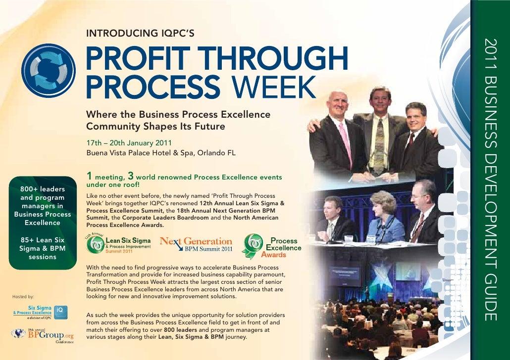 Business Process Management Summit - Business Development Pack