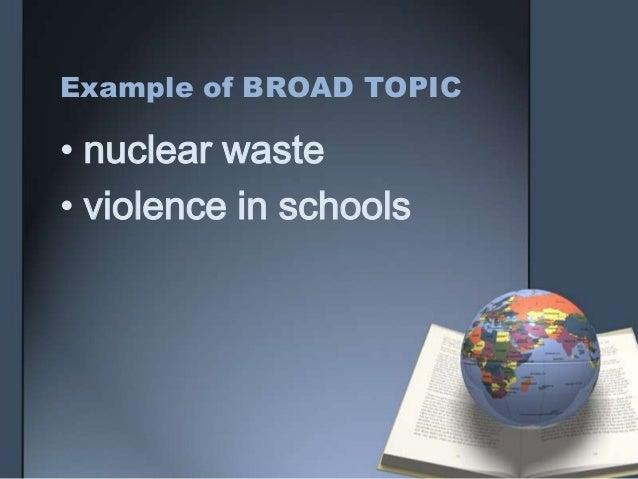 Dissertation proposal service violence