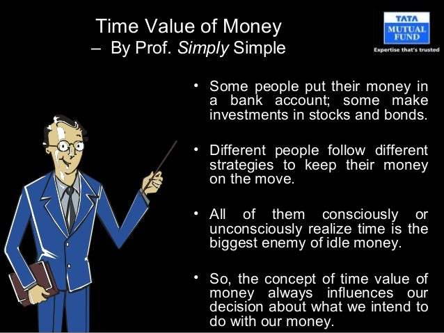 Prof simply simple   Time value of money