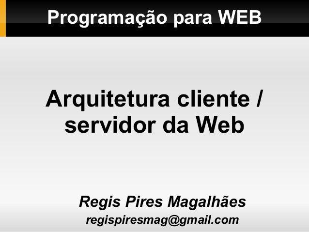Prog web 00-modelo-cliente_servidor_web