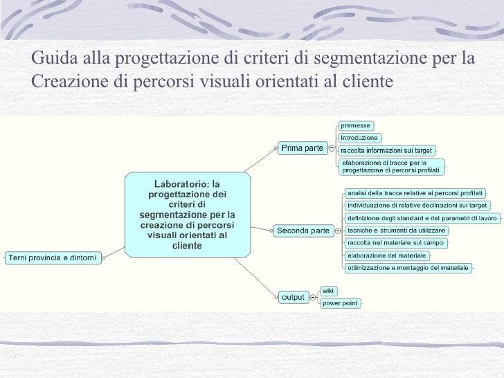 Guida alla progettazione di criteri di segmentazione per la Creazione di percorsi visuali orientati al cliente