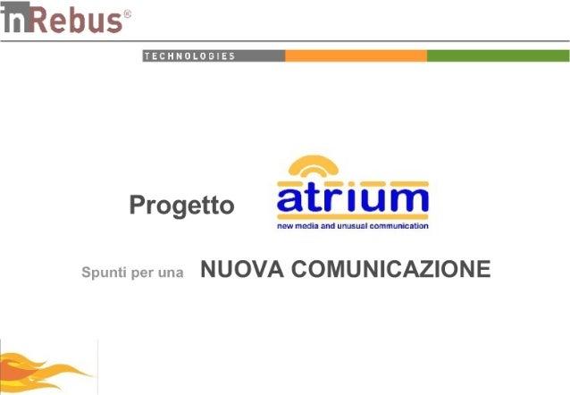 Progetto Atrium Short