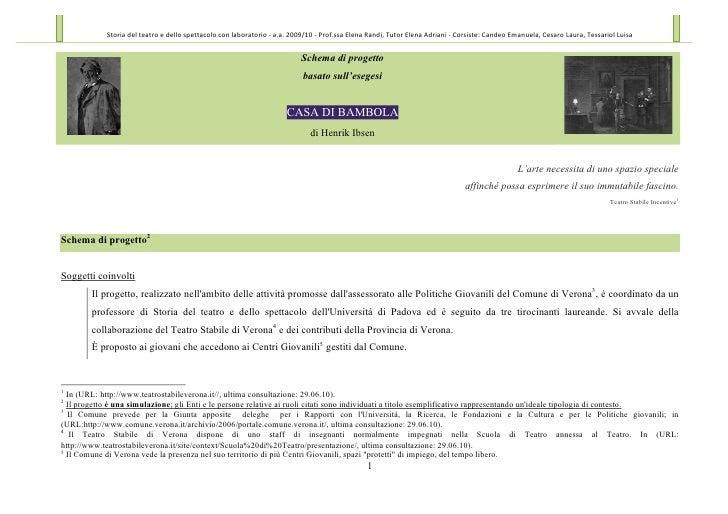 Storia  del  teatro  e  dello  spettacolo  con  laboratorio  -‐  a.a.  2009/10  -‐  Prof.ssa  ...