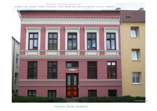Progetto colore house