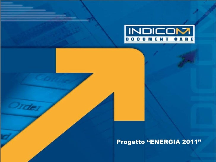 """Progetto """"ENERGIA 2011""""<br />"""