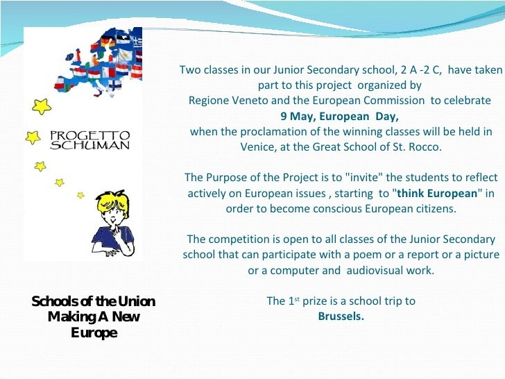 Two classes in our Junior Secondary school, 2 A -2 C,  have taken part to this project  organized by  Regione Veneto and t...