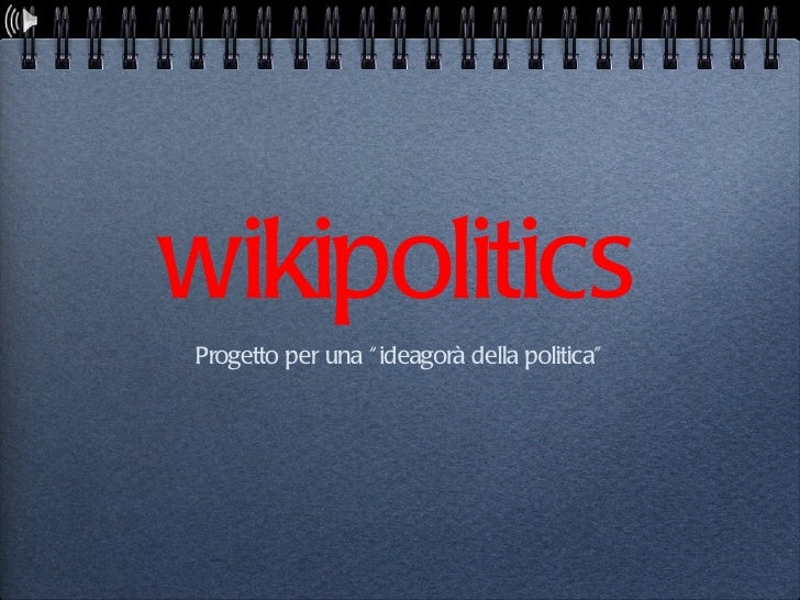 WikiPolitics