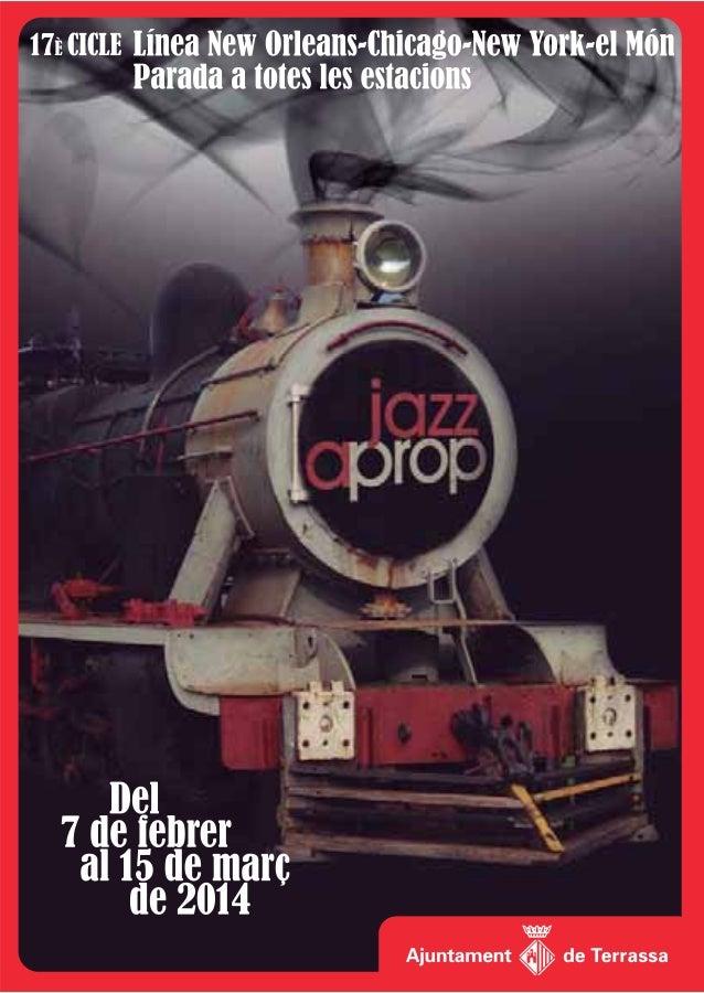 """Amb el cicle """"Jazz a prop"""" la nostra ciutat comença a escalfar motors de cara al Festival de Jazz, que és un dels grans es..."""