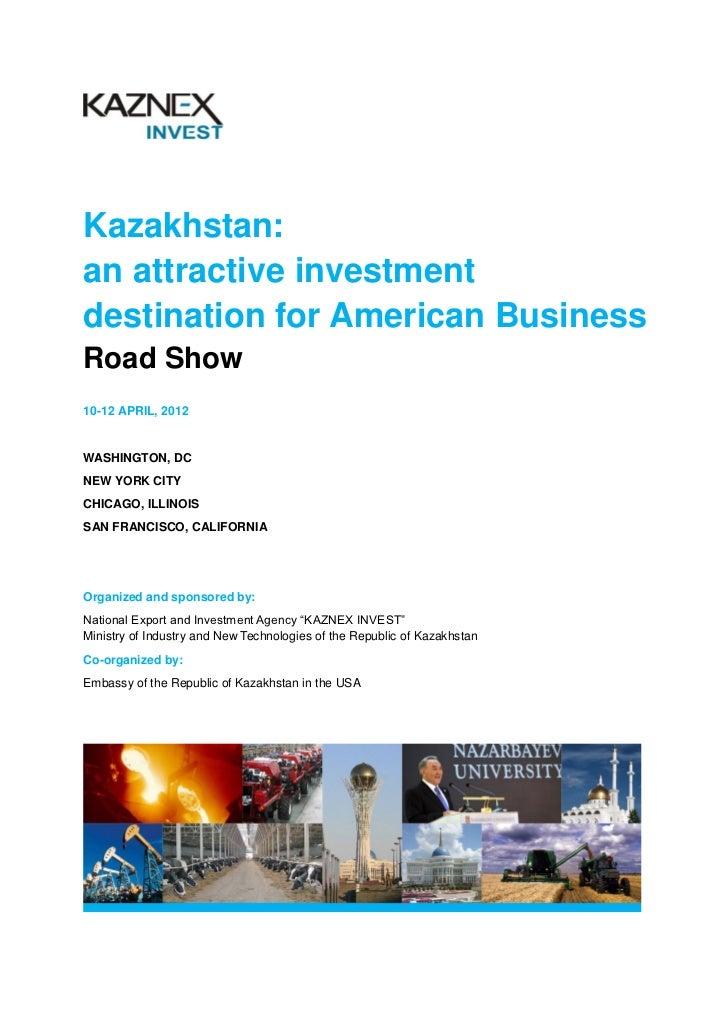 Kazakhstan projects road show 2012