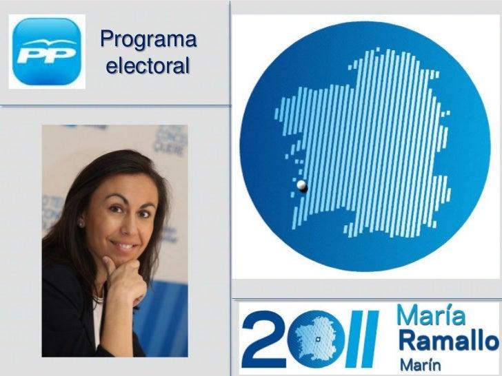 Programa Electoral 2011.