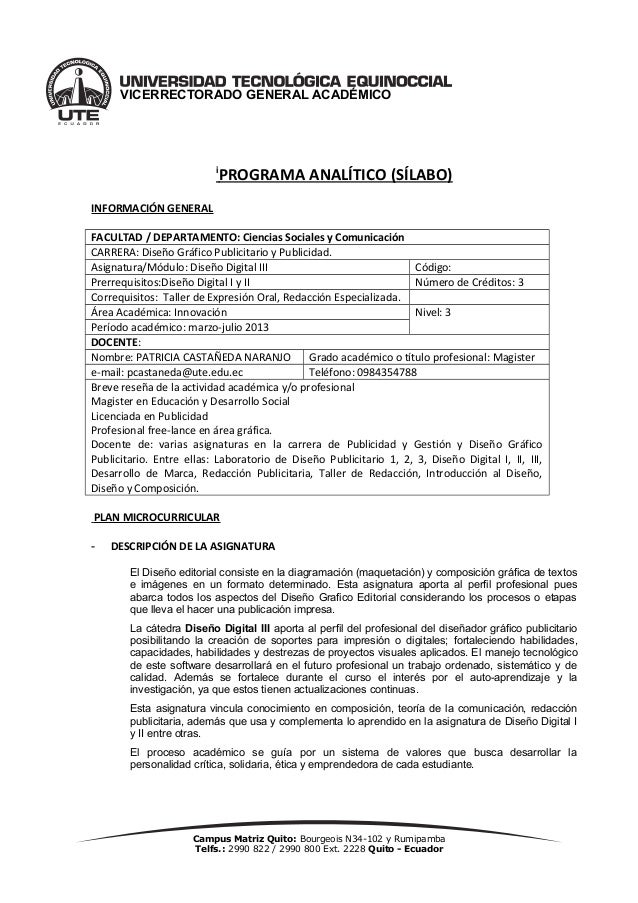 Programa analitico-indesign 2013-1