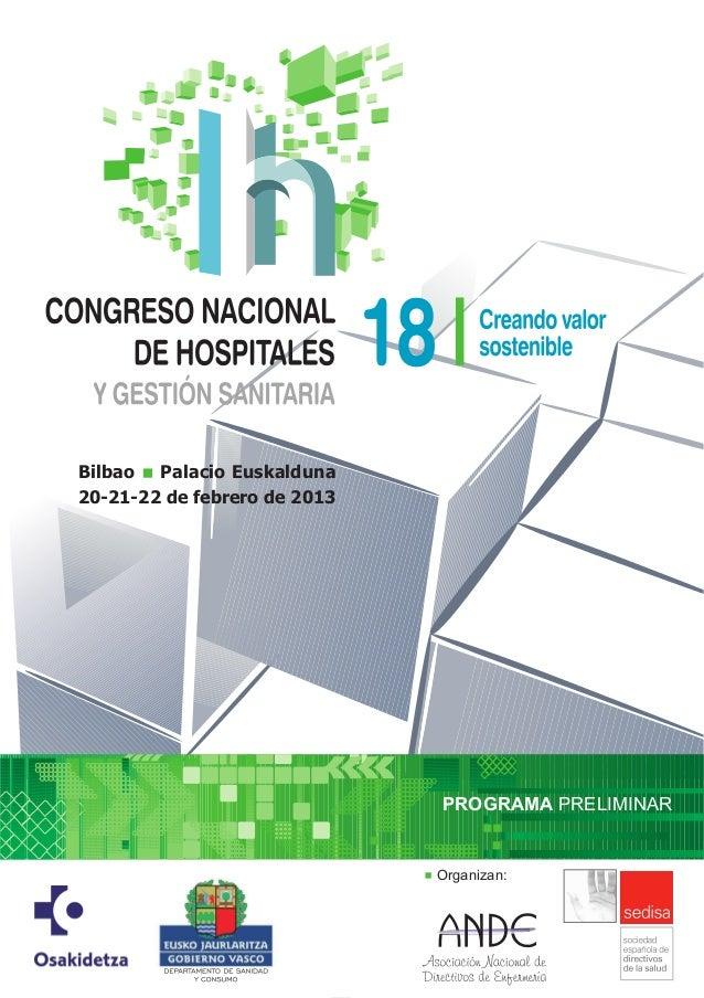 Bilbao Palacio Euskalduna20-21-22 de febrero de 2013                              PROGRAMA PRELIMINAR                     ...