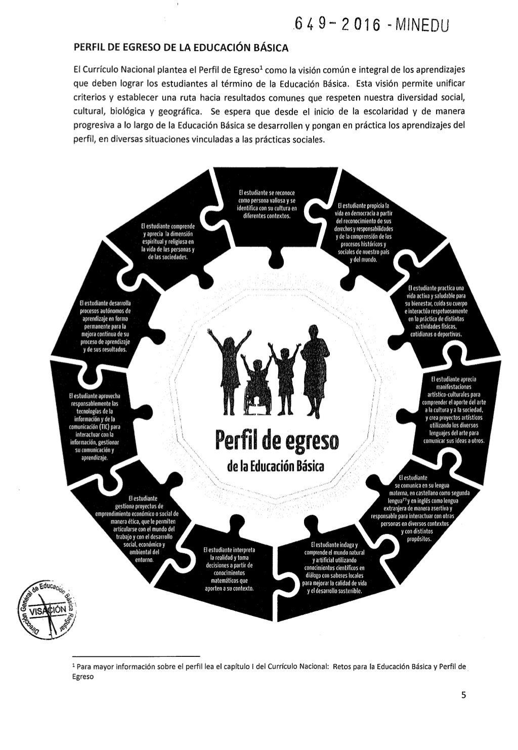 Teresa Clotilde Ojeda Sánchez: Programa curricular de Educación ...