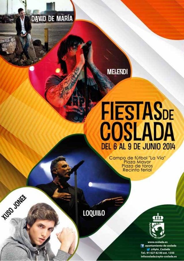 Programa de fiestas de Coslada 2014