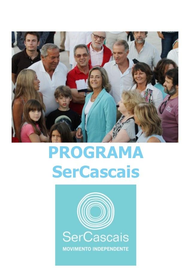 PROGRAMA SerCascais