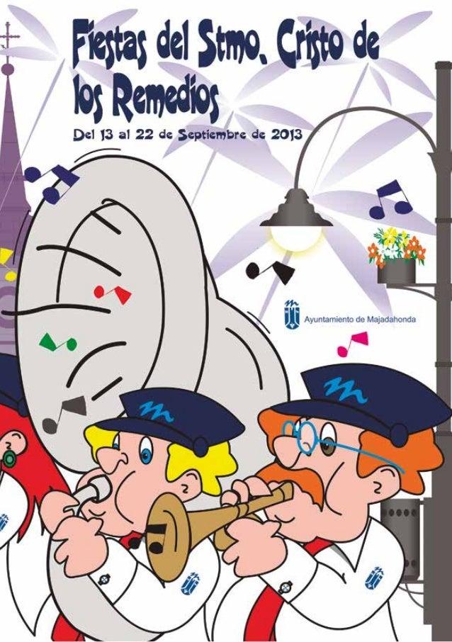 sumario Producción editorial: Edita: Ayuntamiento de Majadahonda D.L.: M-12245-1996 Majadahonda 2013 Saluda del Párroco . ...