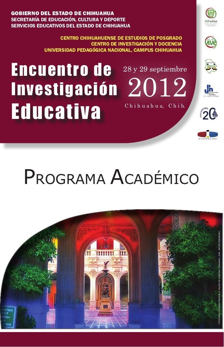 GOBIERNO DEL ESTADO DE CHIHUAHUASECRETARÍA DE EDUCACIÓN, CULTURA Y DEPORTESERVICIOS EDUCATIVOS DEL ESTADO DE CHIHUAHUA    ...