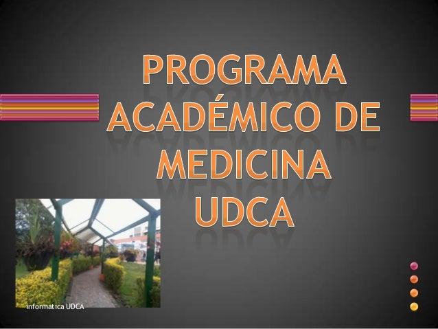 informatica UDCA