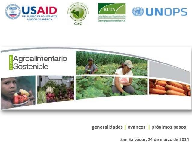 Programa agroalimentario sostenible marzo 2014_web