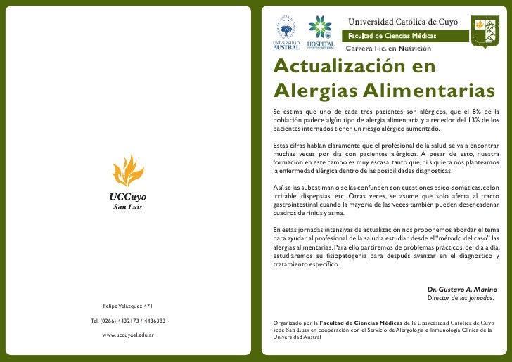 Universidad Católica de Cuyo                                               Facultad Facultad de Ciencias Médicas          ...