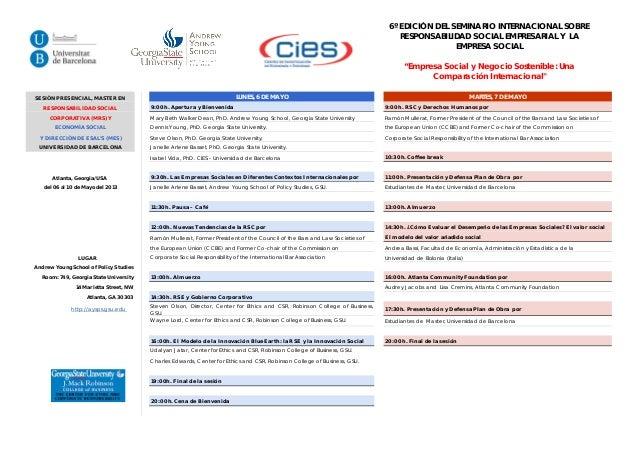 Programa atlanta español