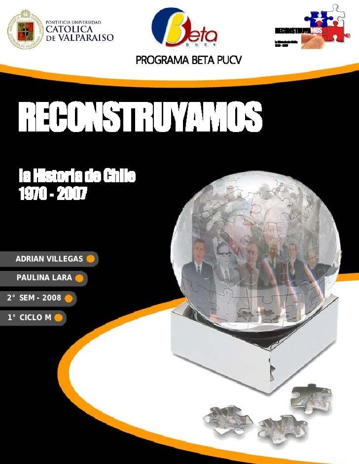 Programa del Curso - Reconstruyamos la Historia de Chile