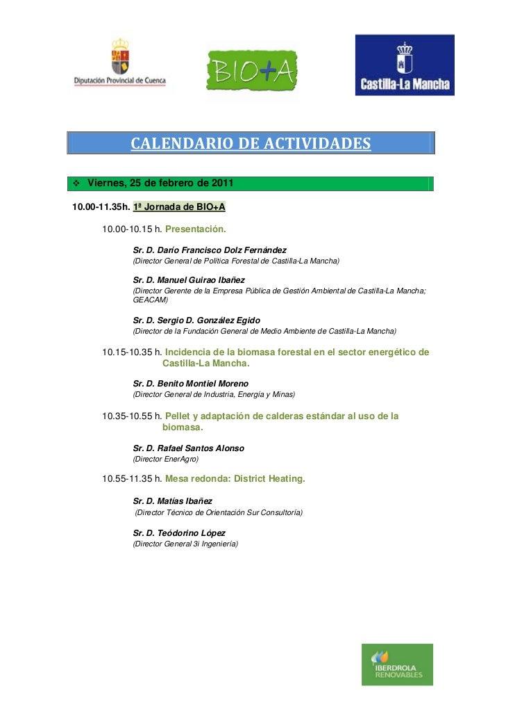 Programa biomasa cuenca