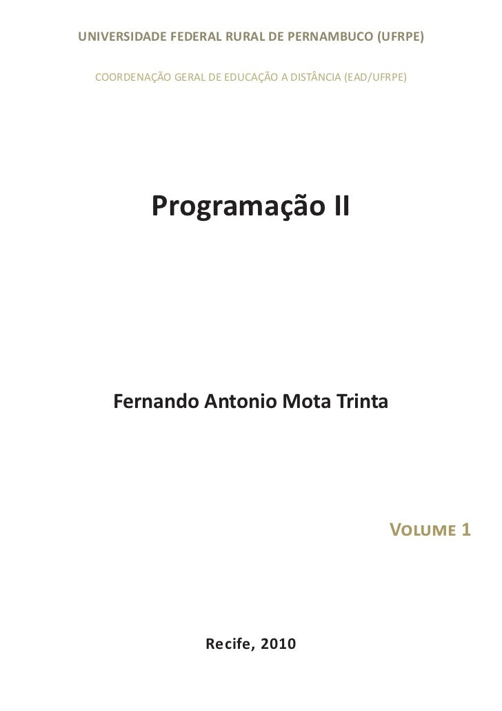 Programacao ii volume1_v_final