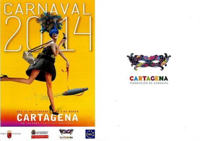 PROGRAMA CARNAVAL DE CARTAGENA 2014