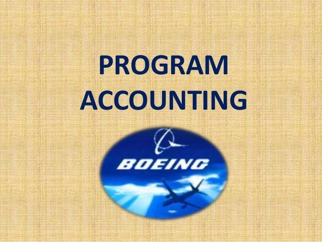 Program accounting
