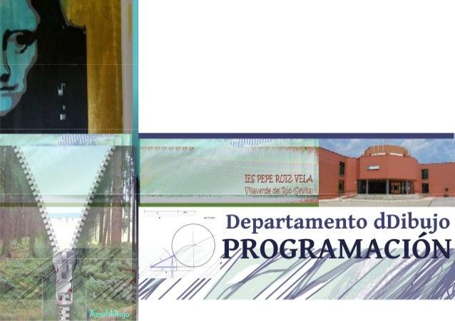 Programación dibujo 2013 14