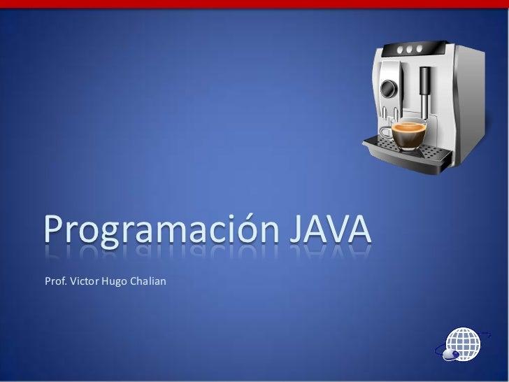 Programación java 1