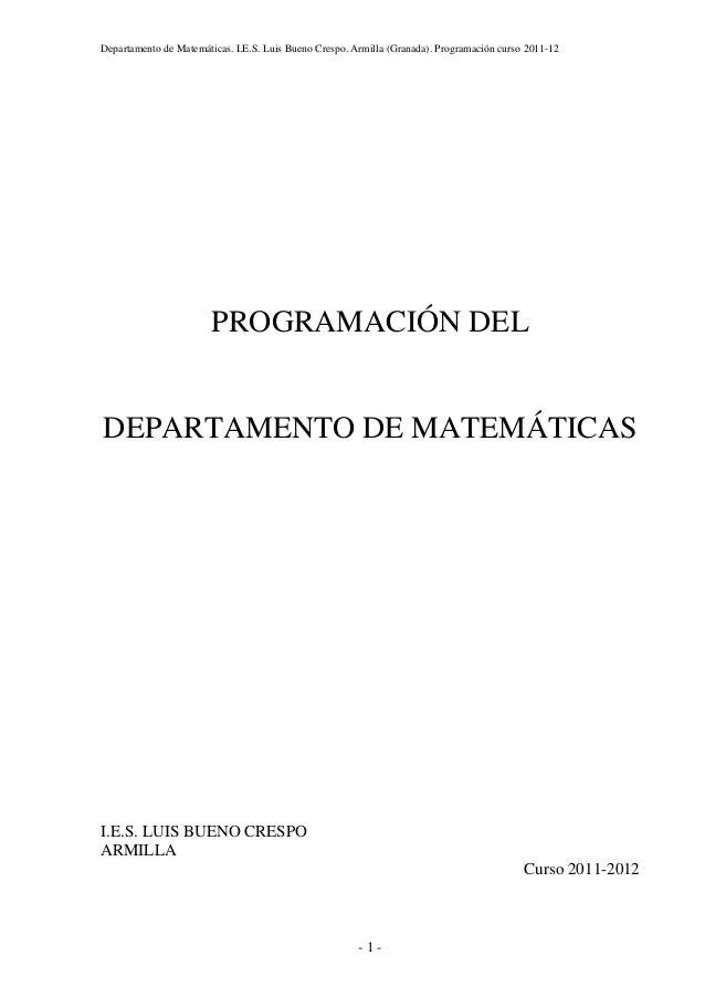 Programacion 1112