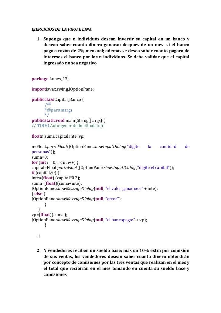 Programacion de la profe lina