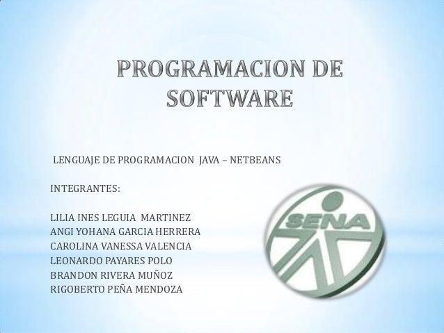 Programación de Software - Java