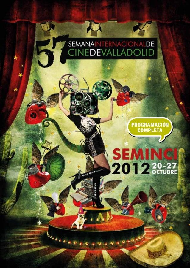 Programacion festival de cine SEMINCI ocio y rutas Valladolid