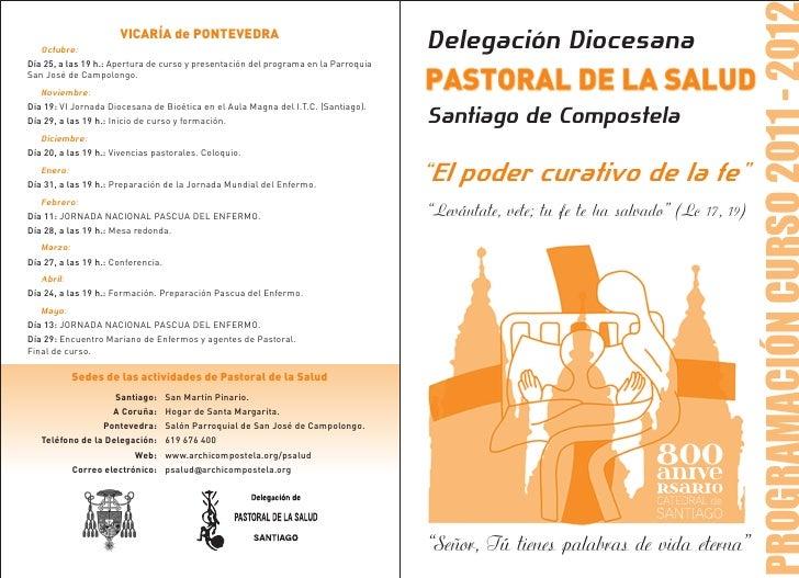 VICARÍA de PONTEVEDRA   Octubre:                                                                          Delegación Dioce...