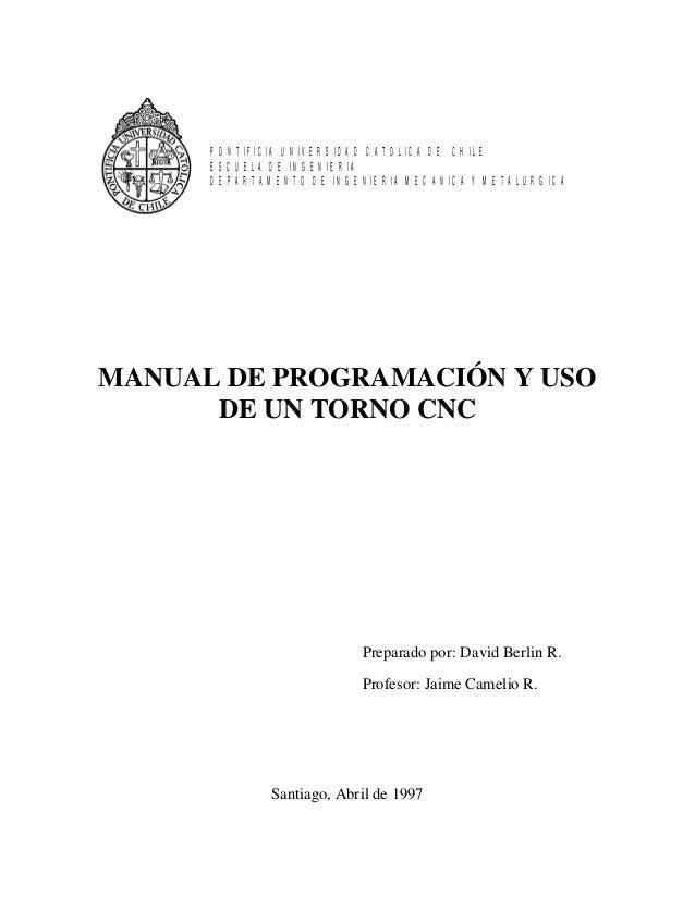 PONTIFICIA UNIVERSIDAD CATOLICA DE CHILE      ESCUELA DE INGENIERIA      DEPARTAMENTO DE INGENIERIA MECANICA Y METALURGICA...