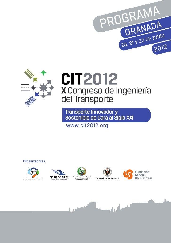 Programa cit2012
