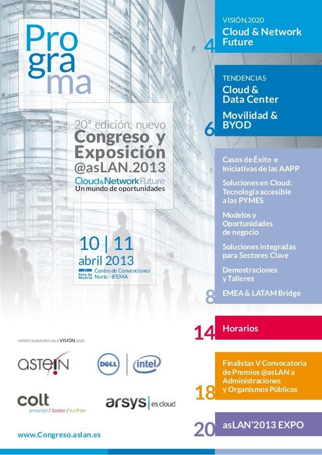 Programa Congrés 2013 ASLAN