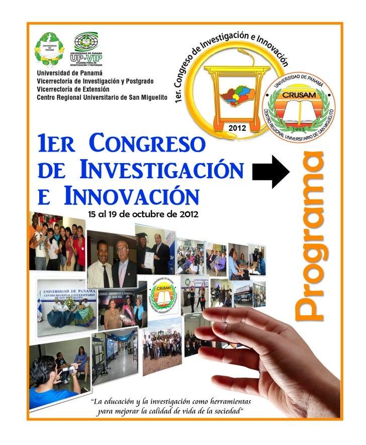 Congreso de Investigación e Innovación