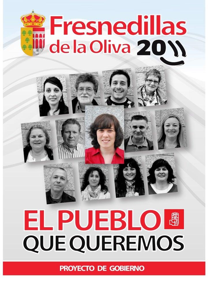 Programa electoral 2011