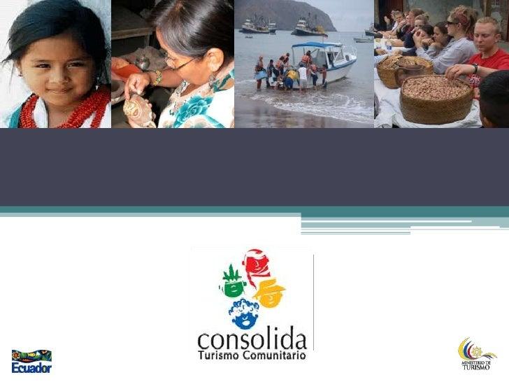Programa consolida turismo comunitario i