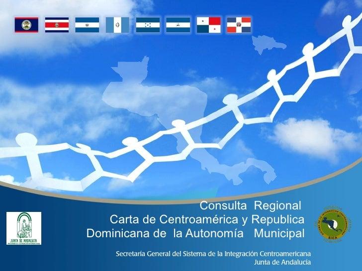 Programa consulta de la carta de autonomia local  agosto 2011