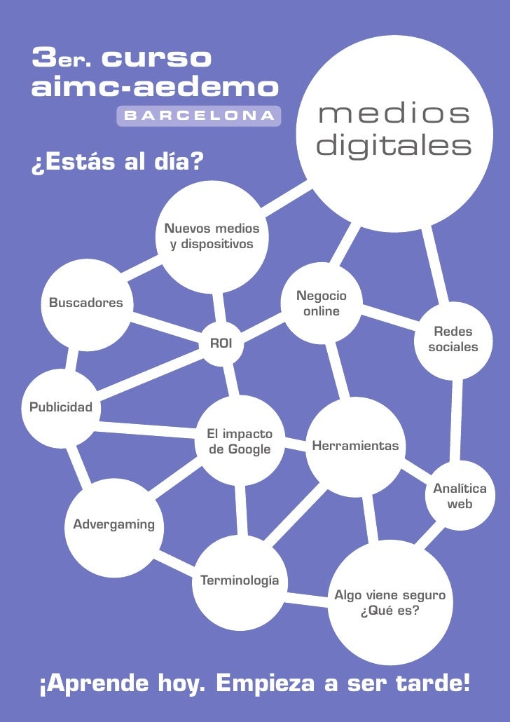 3er. cursoaimc-aedemo                BARCELONA                 medios                                          digitales¿E...