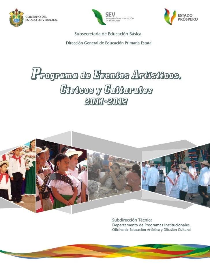 Programa de eventos civicos y culturales 2011 2012 def.